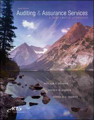 MP Auditing & Assurance Services By Messier, William/ Glover, Steven/ Prawitt, Douglas